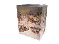 Geschenkverpackung BUNT-Winter 28 x 21 x 36 cm