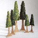 Baum Filz GRÜN-GEMISCHT 65942 62cm,  2-fach