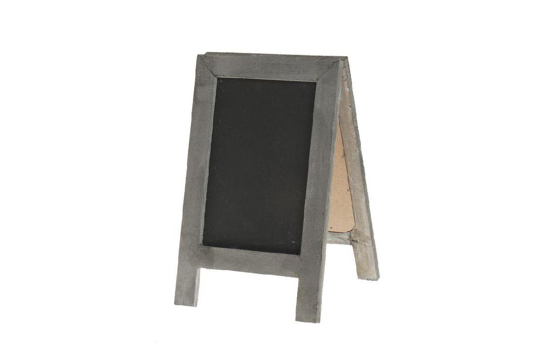 tafel zum stellen standtafel grau schwarz 11095 14x22. Black Bedroom Furniture Sets. Home Design Ideas
