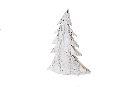 Dekotanne Christmastree WEISS 12649 35cm Holz