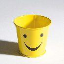 Topf Smile GELB 200 8x7cm 33470