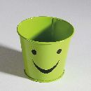 Topf Smile GRÜN 800 8x7cm 33470