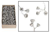 Eukalyptus angedrahtet WEISS ABGEW. 120 Stück 16912