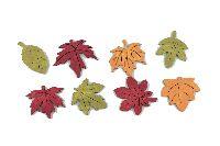 Herbstlaub Oak HERBSTLICH 36041 Streu ca. 3-4cm Holz  72 Stück