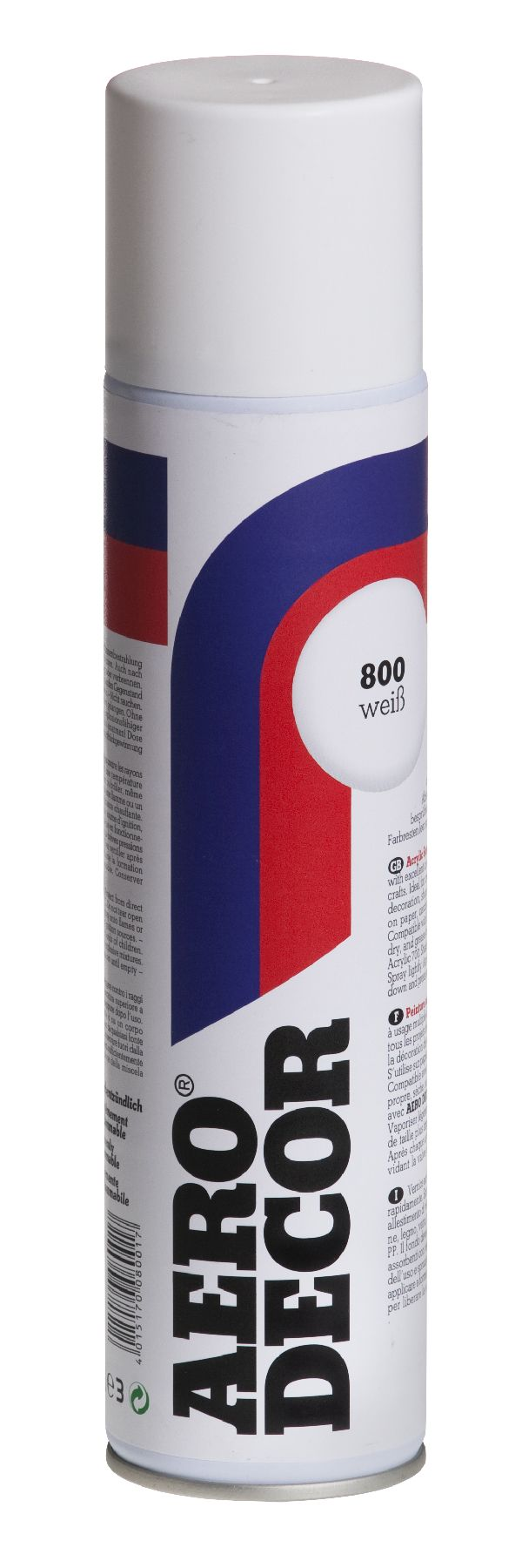 Colorspray, Farbspray WEISS 800 400 ml