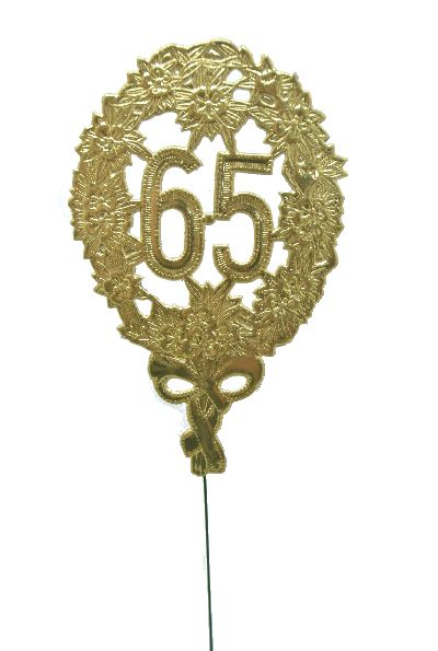 Jubiläumszahlen GOLD 65er