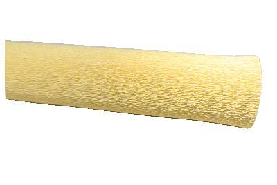 Floristenkrepp / Krepppapier CREME 40 Breite: 50cm Länge:2,50m