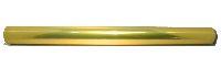 Folie metallise / Glanzfolie GOLD-silber 70cm/50m Geschenkfolie