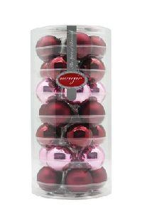 Glaskugeln / Christbaumkugel 15248 Berry Kiss 45mm 28Stück