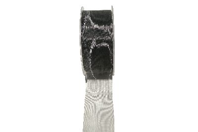Florband UNI SCHWARZ 31 40mm X 25mtr
