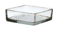 Kastenschale Glasstein KLAR Glasbaustein 1794/11,5x11,5cm