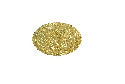 Lametta GELOCKT met. GOLD 50gramm***