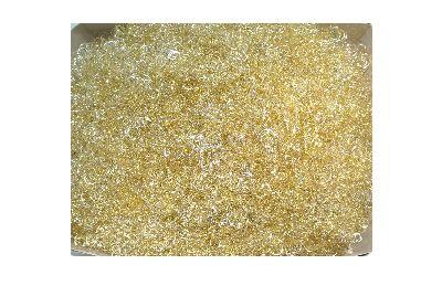 Lametta GELOCKT met. GOLD-SILBER(champagner) 250gramm
