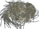 Bouillondraht Effektdraht SILBER 100 Gramm fein