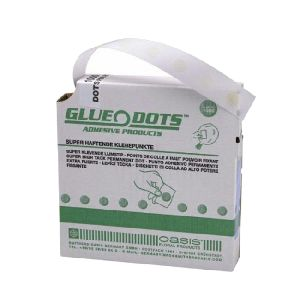 Oasis® Klebepunkte Glue Dots transparent 31-06125 Ø1cm 1000St.beidseitig klebend