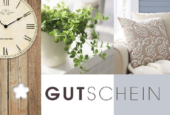 Gutschein Braun / Vintage Natur Fleur Plus