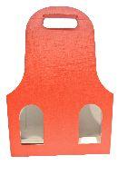 Flaschenverpackung Bag.New ROT 27x9x41 3Flaschen