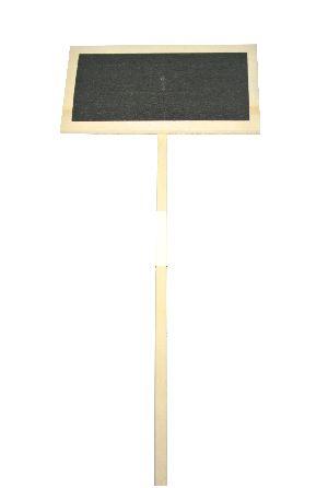 Pflanzenstecker-Holz NATUR 195080 14x8x50cm