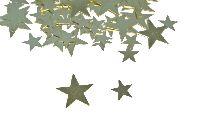Sternstreu Glamour gold  ca.300Stück 76706 1cm + 2cm gemischt Metall