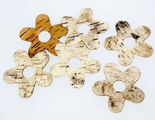 Birkenblume NATUR 80315 12 4 cm 100 Stück