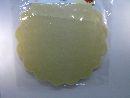 Blumella Topfmansch.Abreißbloc CREME-Glitzer 54cm 25St.block