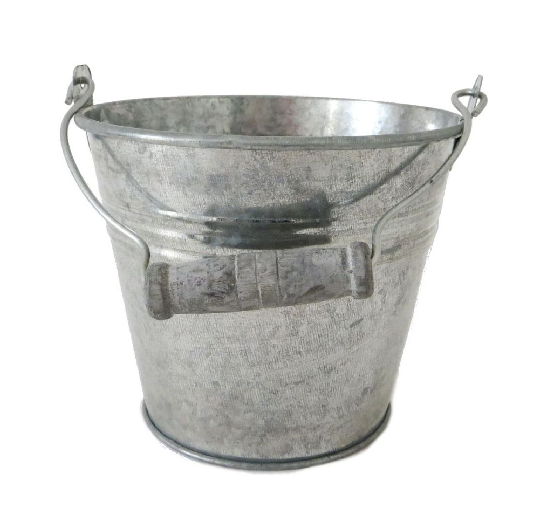 Eimer, Metall ZINK 11956 56900412 12x10x8,5cm