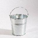Metalleimer Galva METALL  17922 mit Henkel, Ø8,5xH8cm