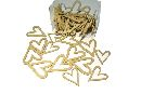 Streuartikel Celebration GOLD 14046 Herz 3,5+4,5cm 2-fach