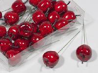 Apfel am Pick ROT 200292 3,5cm  24 Stück