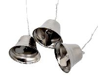 Glöckchen SILBER 80522 2,5-3cm Metall