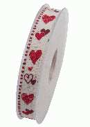 Herzband Cherry Kiss ROT X917 20 B:15mm L:20m