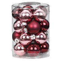 Glaskugel / Christbaumkugel 15248 Berry Kiss 30mm 20 Stück
