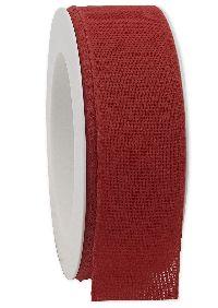Basicband NATURE rot 20 biologisch abbaubar B:40mm L:20m Baumwollband 267