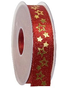 Band Glanzkonzept ROT  369a 20 15 B:25mm L:20Meter